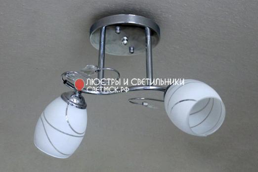 Люстра потолочная ЛС 057/2 хром