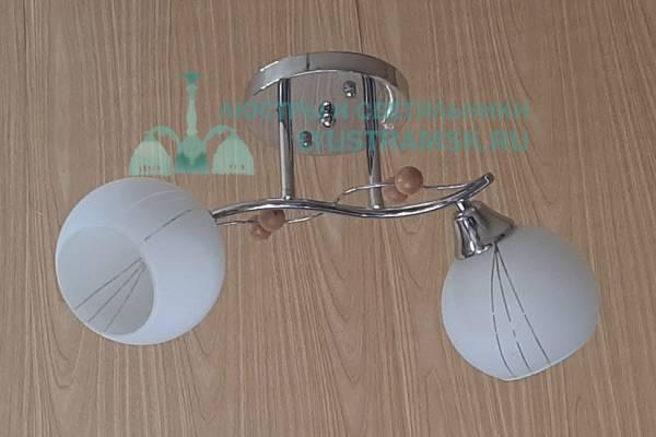 Люстра потолочная ЛС 059/2 хром
