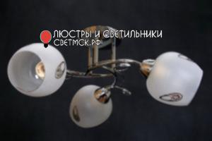 Люстра потолочная ЛС 331/3 хром