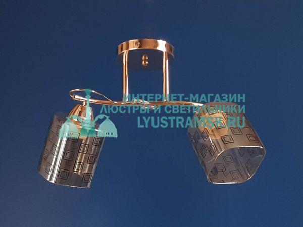 Люстра потолочная LyustraMsk  ЛС 679 на 2 плафона,золото