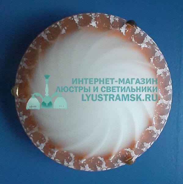 Светильник настенно-потолочный LyustraMsk ЛС 909 на 1 лампу D-25