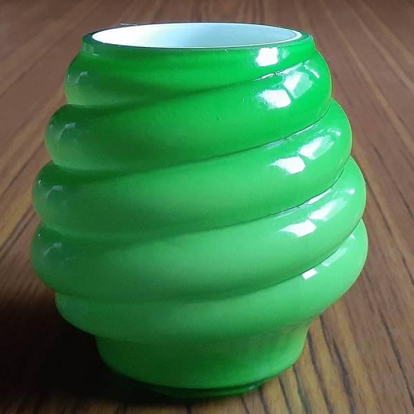 Плафон для люстр ЛС 1171 зелёный Е14