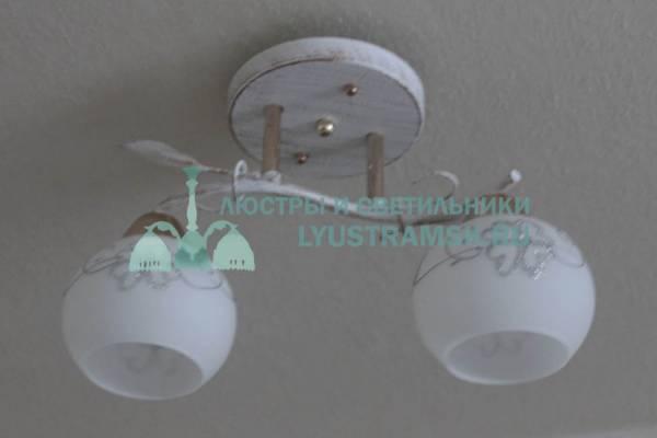Люстра потолочная LyustraMsk  ЛС 667 на 2 рожка белый