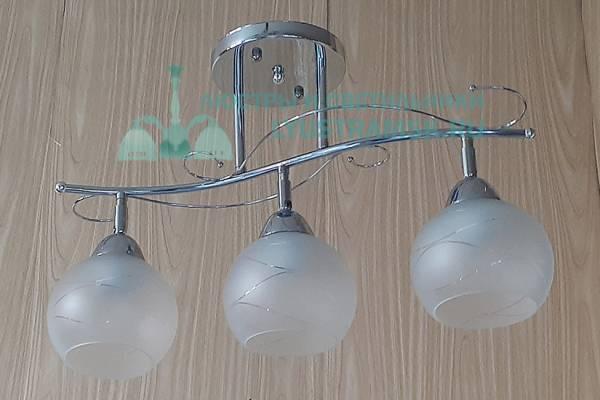 Люстра потолочная LyustraMsk ЛС 436 на 3 рожка хром