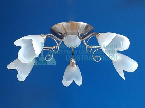 Люстра потолочная TinKo ЛС 615 на 5 рожков Бронза