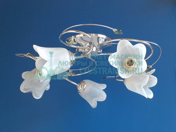 Люстра потолочная LyustraMsk ЛС 113 на 5  рожков хром