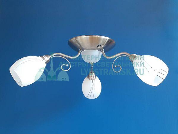 Люстра потолочная LyustraMsk ЛС 615 на 3 рожка Бронза