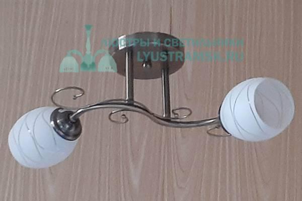Люстра потолочная TinKo ЛС 600 на 2 рожка бронза