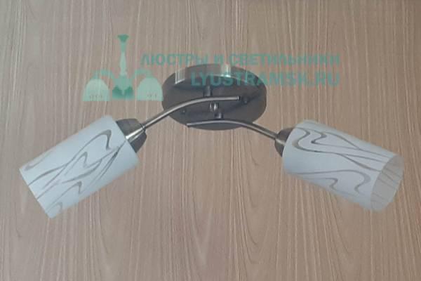 Люстра потолочная TinKo ЛС 112 на 2 рожка бронза