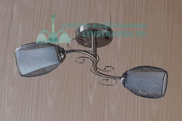 Люстра потолочная LyustraMsk ЛС 600 на 2 рожка бронза