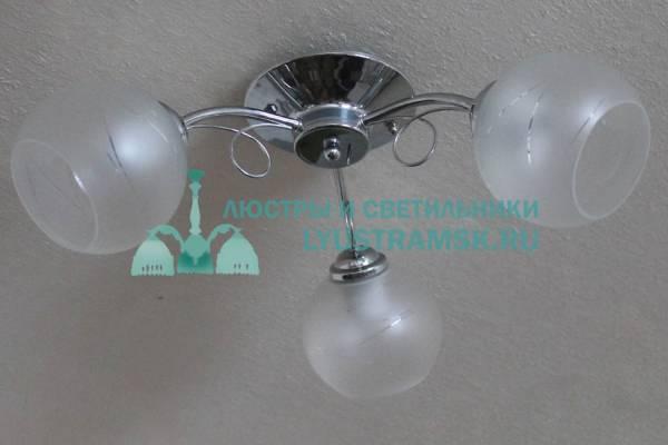 Люстра потолочная ЛС 399/3 хром