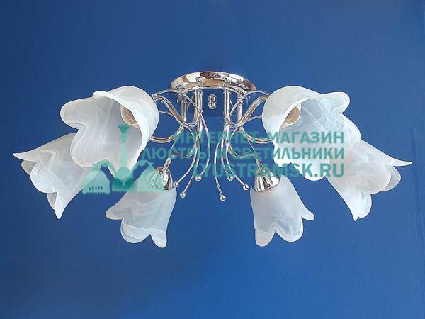 Люстра потолочная TinKo ЛС 706 на 6 рожков хром
