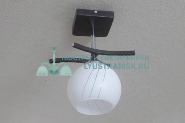 Люстра потолочная LyustraMsk. ЛС 502 на 1 рожок хром, венге