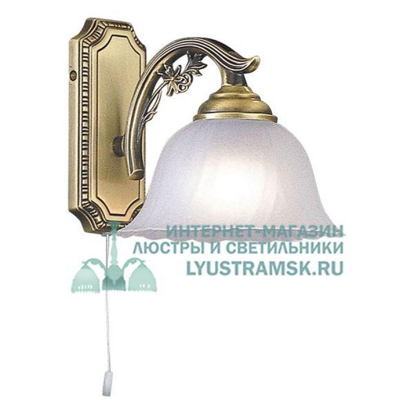Светильник настенный(бра) Reccagni Angelo A 2720/1 ЛС 750 на 1 рожок, бронза