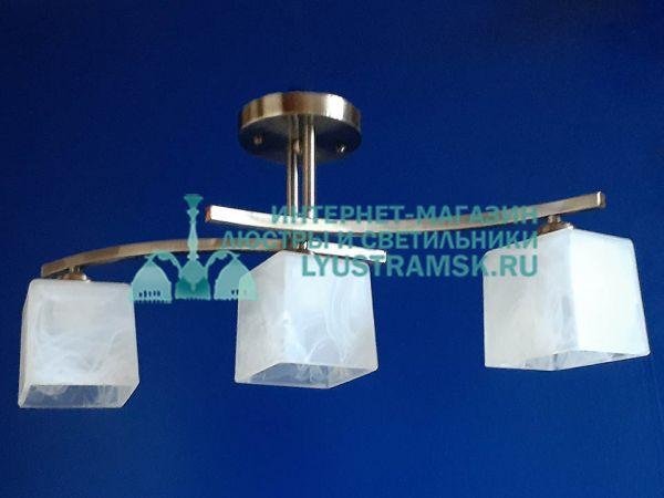 Люстра потолочная LyustraMsk. ЛС 395 на 3 плафона, бронза