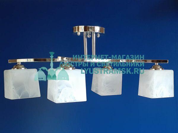 Люстра потолочная TinKo ЛС 422 на 4 рожка хром