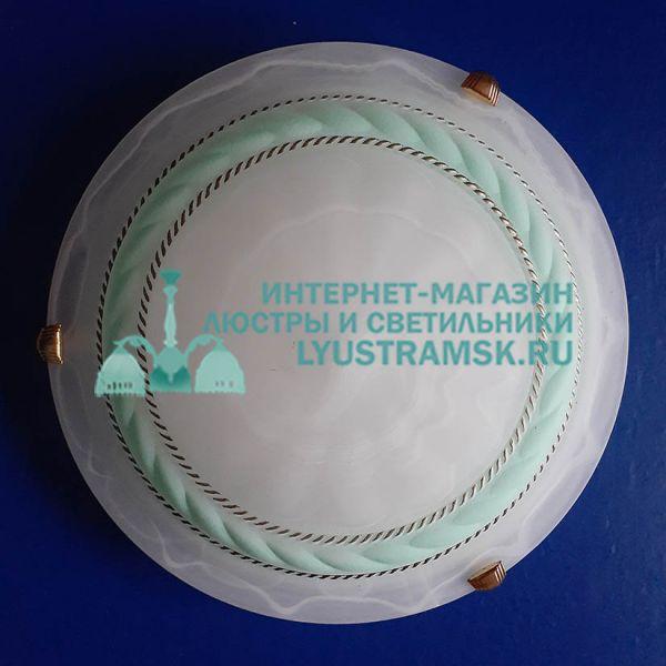 Светильник настенно-потолочный LyustraMsk ЛС 293 на 2 лампы D-30