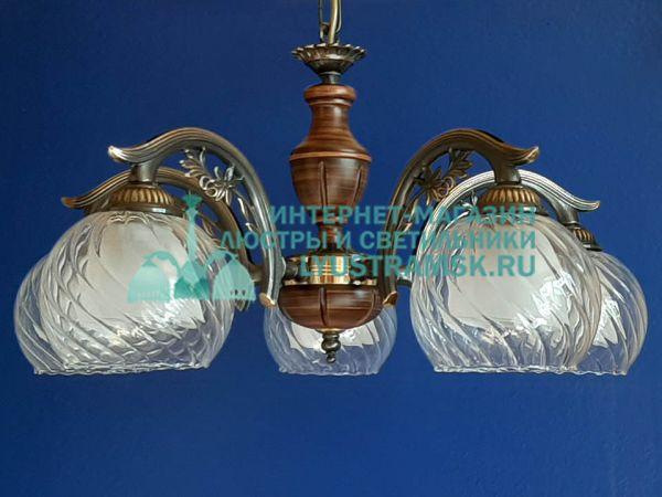Люстра подвесная Reccagni Angelo L 2700/5 Италия ЛС 752 на 5 рожков