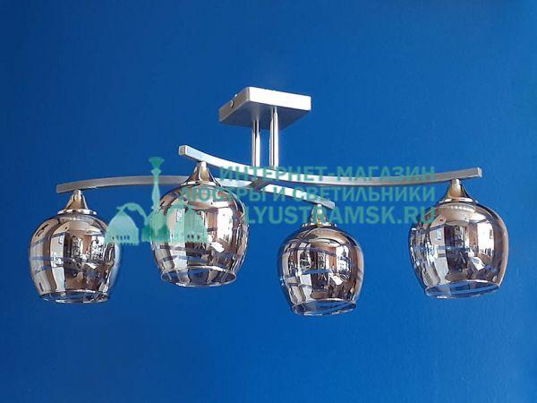 Люстра потолочная LyustraMsk ЛС 643 на 4 рожка