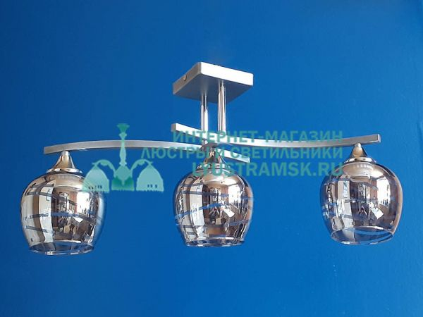 Люстра потолочная LyustraMsk ЛС 643 на 3 рожка