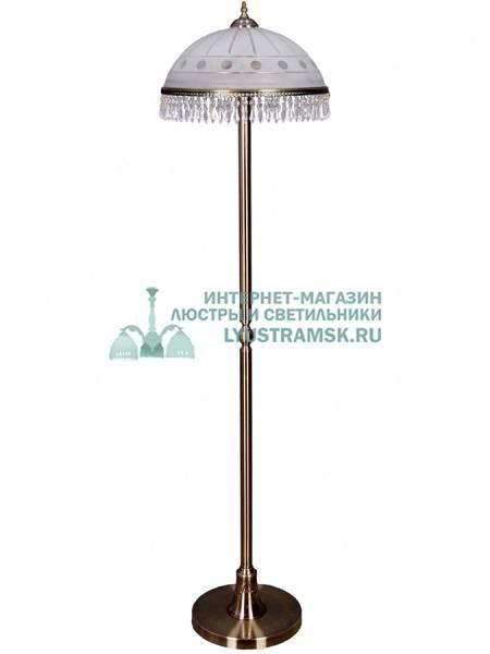 Торшер LyustraMsk Анжелика ЛС 002 на 2 лампы, бронза
