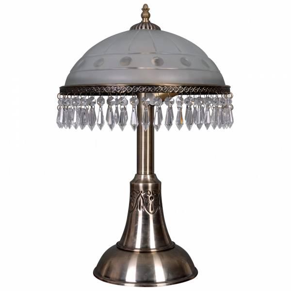 Настольная лампа LyustraMsk Анжелика ЛС 002 на 2 лампы, бронза