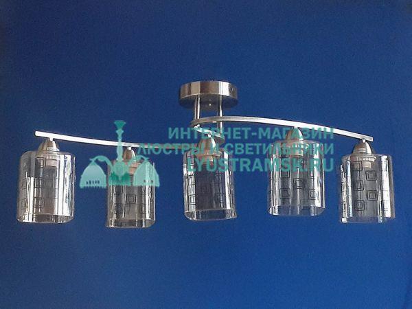Люстра потолочная TinKo ЛС 473 на  5 рожков бронза