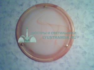 Светильник настенно-потолочный LyustraMsk ЛС 278 на 2 лампы D-40