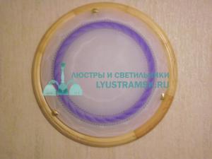 Светильник настенно-потолочный LyustraMsk ЛС 281 на 2 лампы D-40