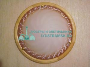 Светильник настенно-потолочный LyustraMsk ЛС 282 на 2 лампы D-40