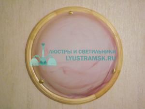 Светильник настенно-потолочный LyustraMsk ЛС 287 на 2 лампы D-40