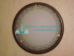 Светильник настенно-потолочный LyustraMsk ЛС 290 на 2 лампы D-40