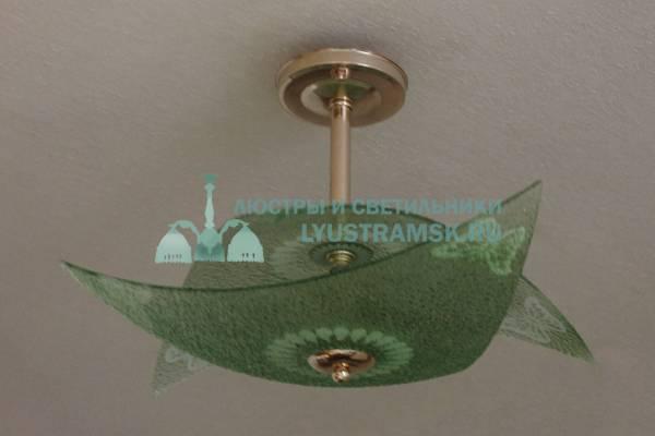Люстра потолочная TinKo ЛС 606 на 3 лампочки, золото
