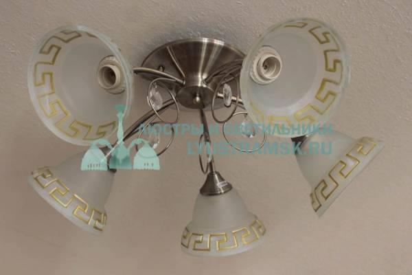 Люстра потолочная LyustraMsk ЛС 165 на 5 рожков бронза